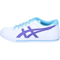 Chaussures Femme Baskets basses Onitsuka Tiger By Asics chaussures femme  sneakers blanc cuir pourpre AH829 blanc