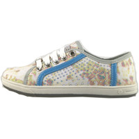 Chaussures Fille Baskets basses Laura Biagiotti chaussures fille  sneakers multicolor toile strass AH986 multicolor