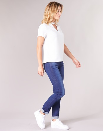Straight Jeans Midge G Raw Droit Femme Vêtements Aged Medium Saddle Bleu star Mid GMUpzjLqVS