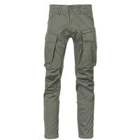 Vêtements Homme Pantalons cargo G-Star Raw ROVIC ZIP 3D STRAIGHT TAPERED Gris / Vert