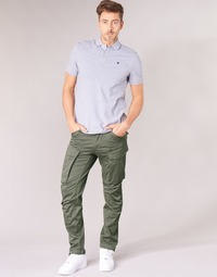 Vêtements Homme Pantalons cargo G-Star Raw ROVIC ZIP 3D STRAIGHT TAPERED Gris Vert