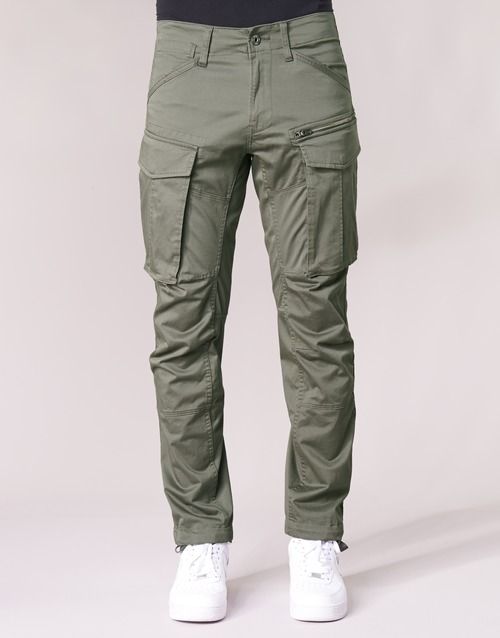 Vert G Raw Pantalons Zip Homme Straight Gris Tapered star Rovic Cargo 3d GMVLqUpSjz