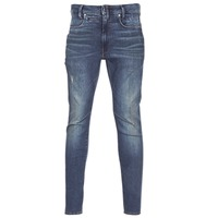 Vêtements Homme Jeans skinny G-Star Raw D-STAQ 3D SKINNY Bleu Dark Aged Antic Destroy