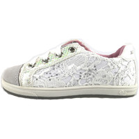 Chaussures Fille Baskets basses Laura Biagiotti chaussures fille  sneakers blanc textile daim AH988 blanc