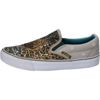 Chaussures Femme Slip ons F * * K  gris