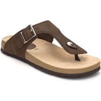 Chaussures Femme Tongs Morxiva Shoes  Marron