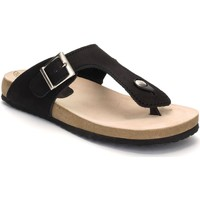 Chaussures Femme Tongs Morxiva Shoes  Noir