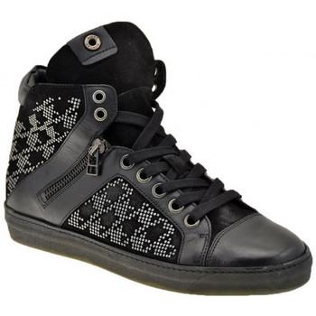 Chaussures Femme Baskets montantes Janet&Janet Mi postal Baskets montantes Noir