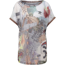 Vêtements Femme T-shirts manches courtes adidas Originals T-shirt Boxy Multicolore
