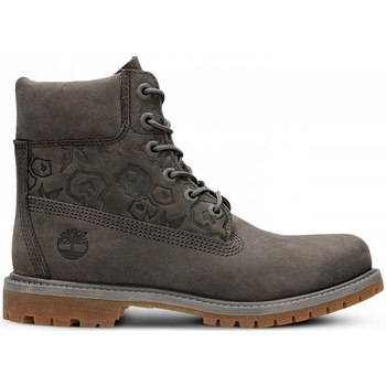 Chaussures Femme Baskets montantes Timberland 6IN Premium Boot W Gris