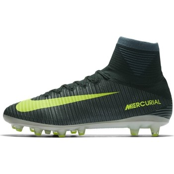 Chaussures Homme Baskets montantes Nike Mercurial Superfly V CR7 Agpro Gris