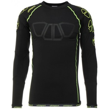 Vêtements Homme T-shirts manches longues Uhlsport Bionikframe Baselayer Black-Fluor yellow