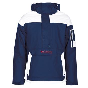 Vêtements Homme Blousons Columbia CHALLENGER PULLOVER Marine / Blanc