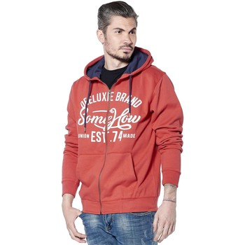 Vêtements Homme Sweats Deeluxe Sweat logotypé Firstone tomate