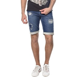Vêtements Homme Shorts / Bermudas Deeluxe Short en denim destroy Bullet stoneused