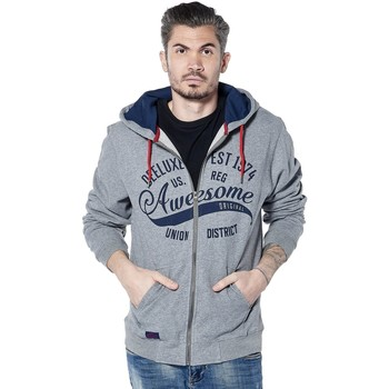 Vêtements Homme Sweats Deeluxe Sweat logotypé Firstone grischine
