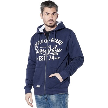 Vêtements Homme Sweats Deeluxe Sweat logotypé Firstone bleufonce