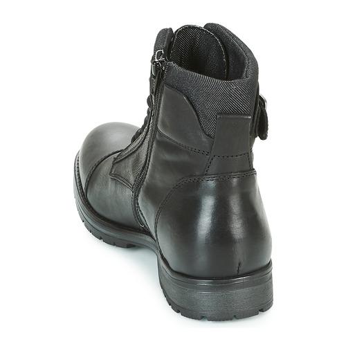 Jones Leather Jackamp; Homme Boots Noir Albany g76vYbyf