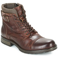 Chaussures Homme Boots Jack & Jones ALBANY LEATHER Marron