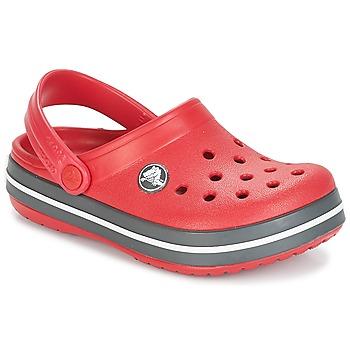 Chaussures Enfant Sabots Crocs CROCBAND CLOG KIDS Rouge