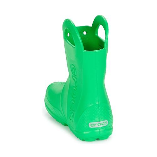 Chaussures Kids Bottes Handle Crocs Rain It Boot Vert De Enfant Pluie OuZwPiTkX