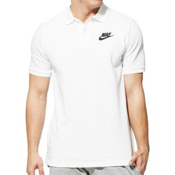 Vêtements Homme Polos manches courtes Nike - B Nsw Polo Matchup - Blanc Blanc