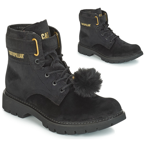 Chaussures Femme Bottines Caterpillar CONVERSION VELVET Black