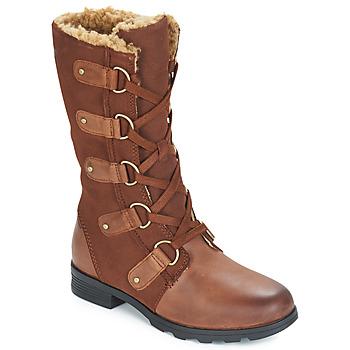 Chaussures Femme Bottes ville Sorel EMILIE LACE Brown
