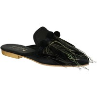 Chaussures Femme Sabots Gia Couture VENUS SATIN B nero