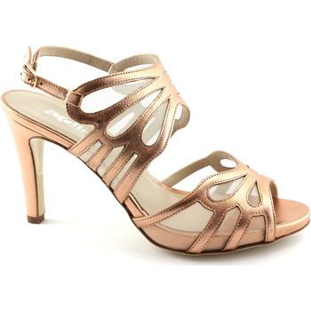 Chaussures Femme Sandales et Nu-pieds Melluso S845 saumon chaussures femme scandale sangle talon Rosa