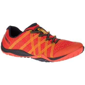 Chaussures Homme Multisport Merrell M Trail Glove 4 E Mesh Rouge