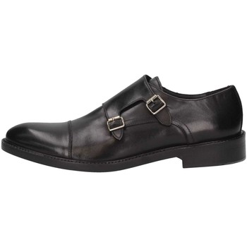 Chaussures Homme Richelieu Luca Rossi 4351 VITELLO NERO French shoes homme Noir Noir