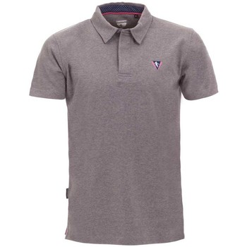 Vêtements Homme Polos manches courtes Camberabero Polo rugby manches courtes adulte - Gris