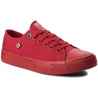 Chaussures Femme Baskets basses Big Star AA274007 Rouge