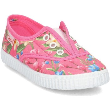 Chaussures Enfant Slips on Cienta 55023 Rose