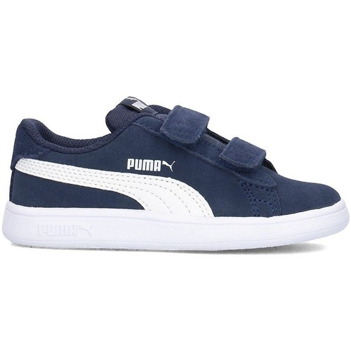 Baskets Basses Puma Bleu Smash Oieq3UdHK