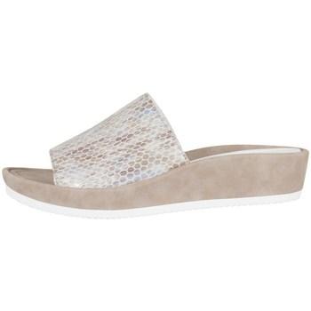 Chaussures Femme Sabots Ara Tivoli Beige-Blanc