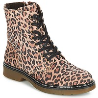 Chaussures Fille Boots Bullboxer LANA LEOPARD