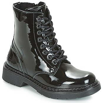 Chaussures Fille Boots Bullboxer LANA BLACK PATENT