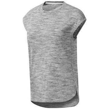Vêtements Femme T-shirts manches courtes Reebok Sport EL Marble Gris