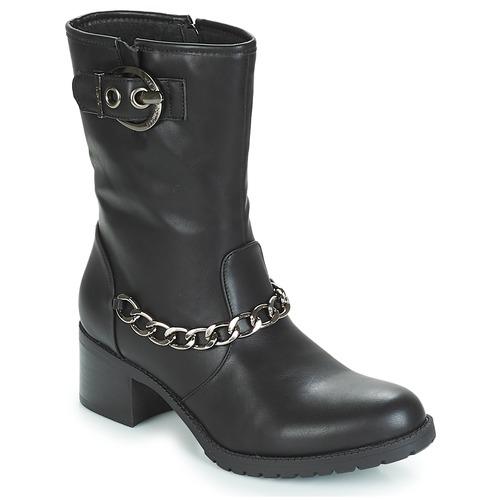 Chaussures Femme Bottines LPB Shoes LOANNE Noir