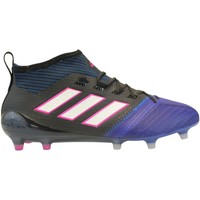 Chaussures Homme Football adidas Originals Ace 17.1 PrimeKnit FG Noir