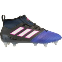 Chaussures Homme Football adidas Originals Ace 17.1 PrimeKnit SG Noir