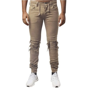 Vêtements Homme Jeans slim Project X Paris Jeans Destroy Beige