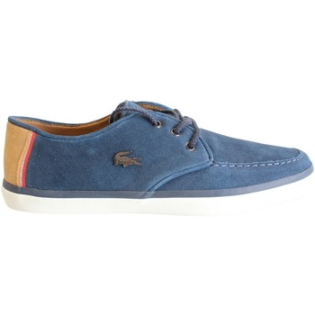 Chaussures Homme Baskets basses Lacoste Sevrin 7 SRM NVY LTH Bleu