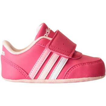 Chaussures Baskets basses adidas Originals V JOG CRIB Rose