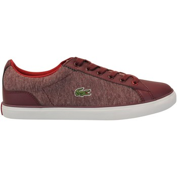 Chaussures Baskets basses Lacoste Lerond 317 Rouge