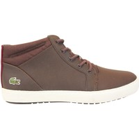 Chaussures Baskets montantes Lacoste Ampthill Chukka 317 Marron