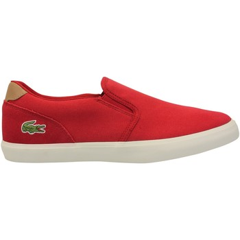 Chaussures Homme Slips on Lacoste Slip-on Jouer 316 Rouge