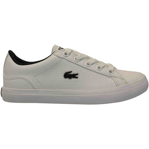 Lacoste Lerond 317 Blanc - Chaussures Baskets basses